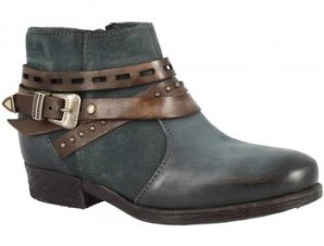 Μπότες Leonardo Shoes 114212 PIOMBO CACAO