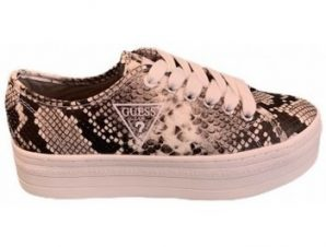 Xαμηλά Sneakers Guess Basket plateforme croco [COMPOSITION_COMPLETE]