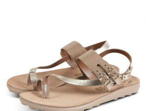 Fantasy Sandals Naomi S411 Ροζ Χρυσό